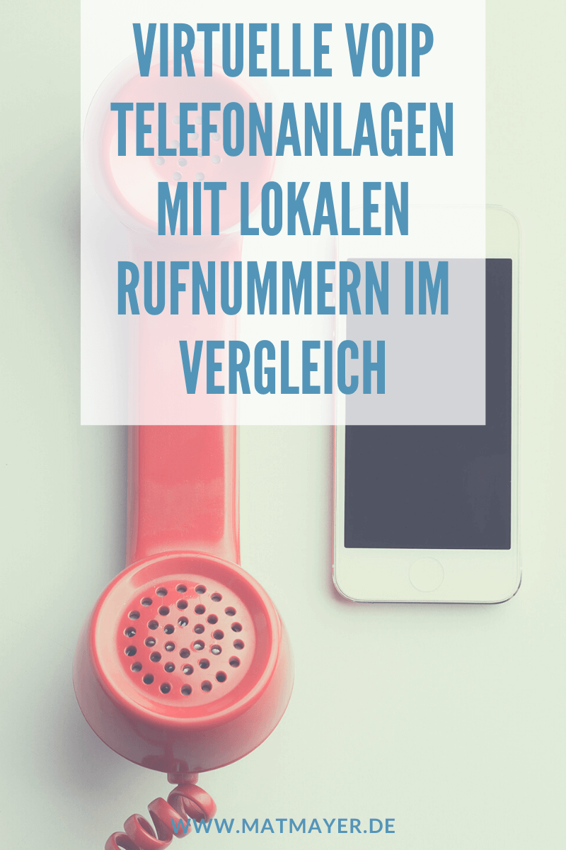 Virtuelle VoIP Telefonanlagen mit lokalen Rufnummern im Vergleich